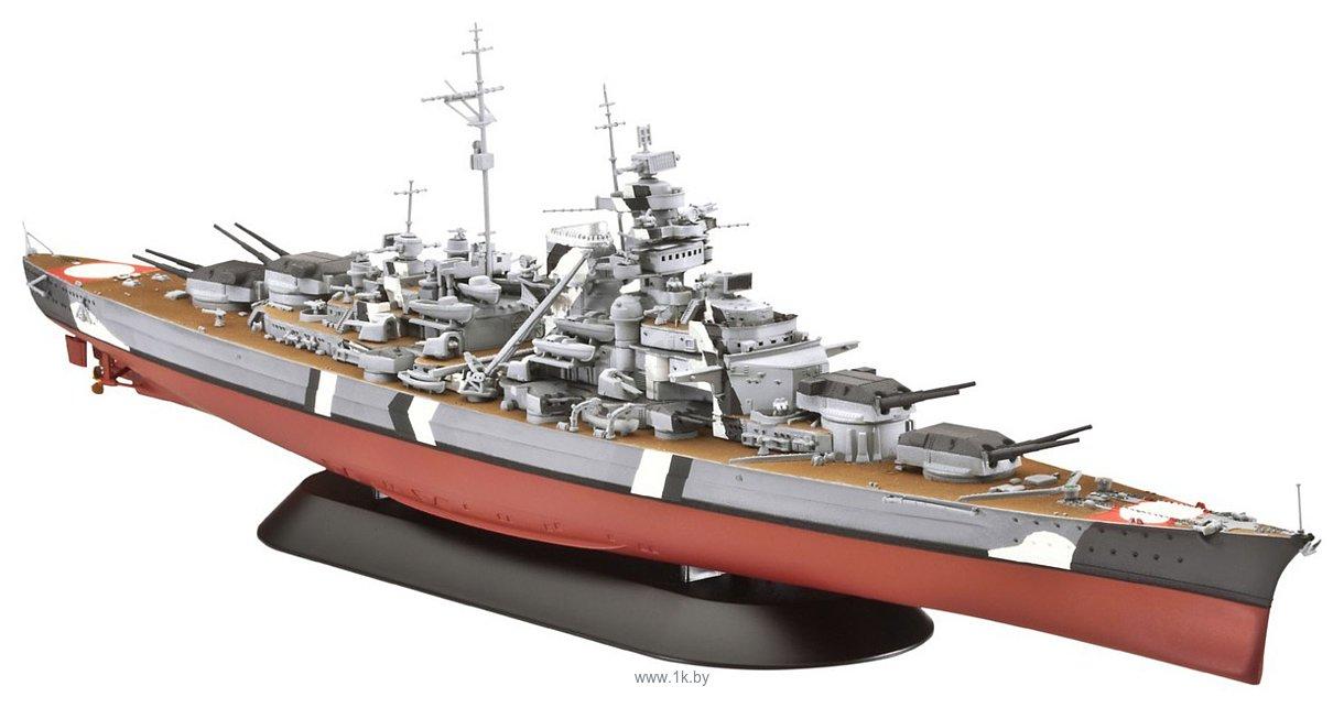 Фотографии Revell 05098 Немецкий линейный корабль Battleship Bismarck