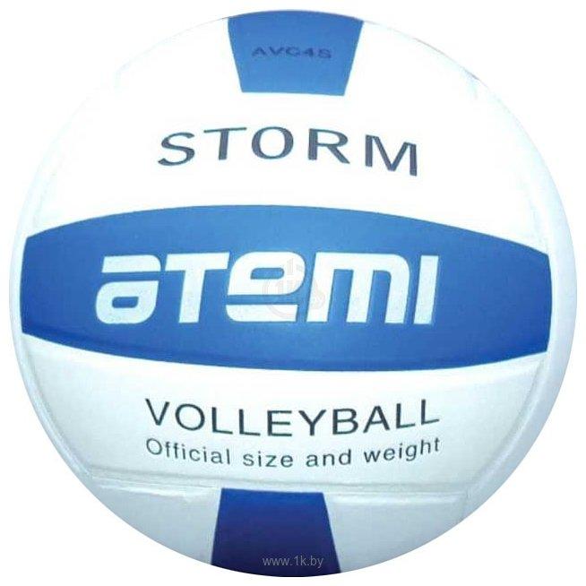 Фотографии Atemi Storm (5 размер, синий/белый)