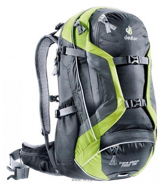 Фотографии Deuter Trans Alpine Pro 28 black/green (black/kiwi)