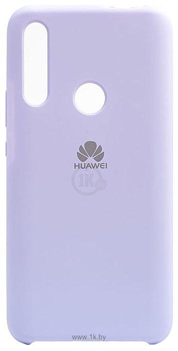 Фотографии EXPERTS SOFT-TOUCH case для Huawei Honor 9X/Y9 Prime 2019 (лаванда)