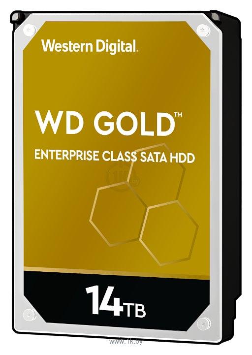Фотографии Western Digital Gold 14 TB (WD141KRYZ)