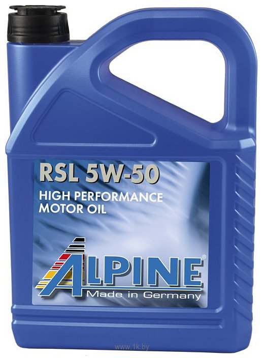 Фотографии Alpine RSL 5W-50 5л