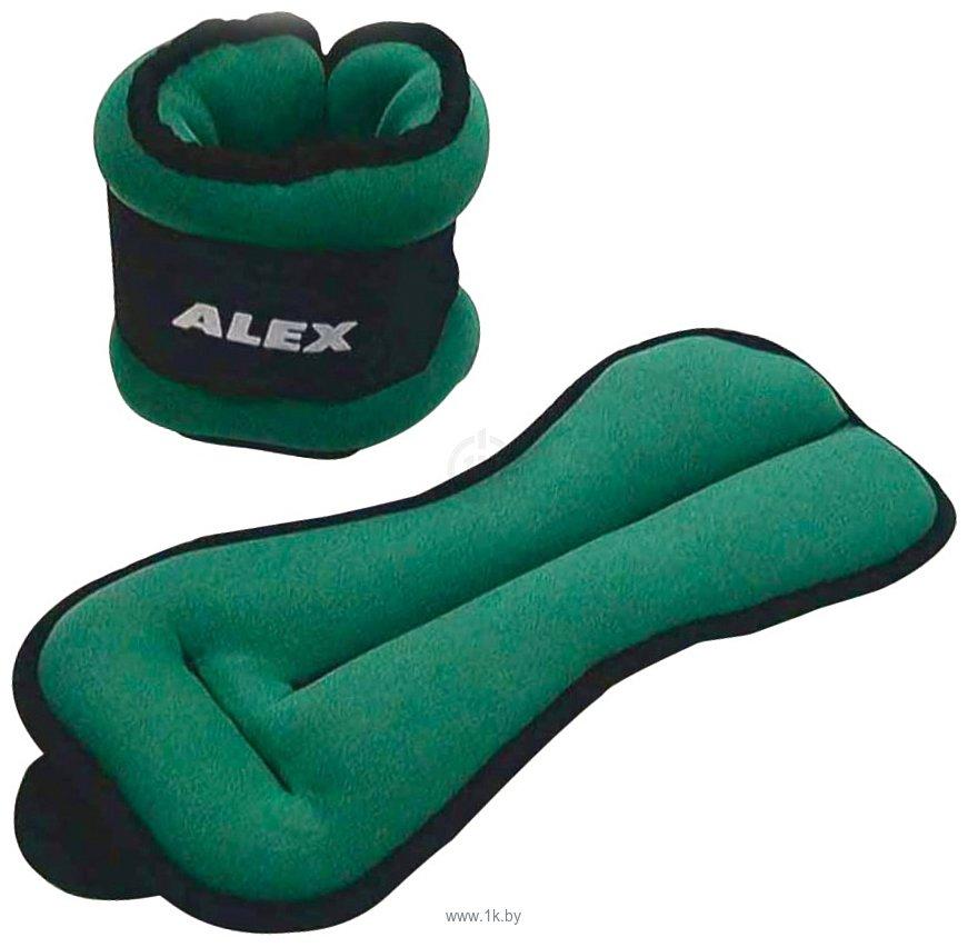 Фотографии Alex Ankle Wrist Weight 2x1.5 кг (WT-AHB-1239-3K)