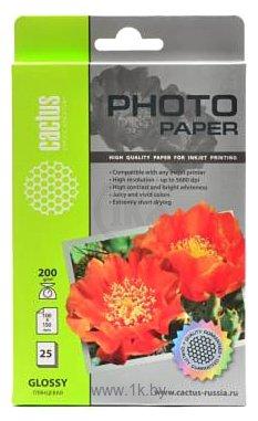 Фотографии CACTUS Глянцевая A6 200 г/м2 25 листов (CS-GA620025)