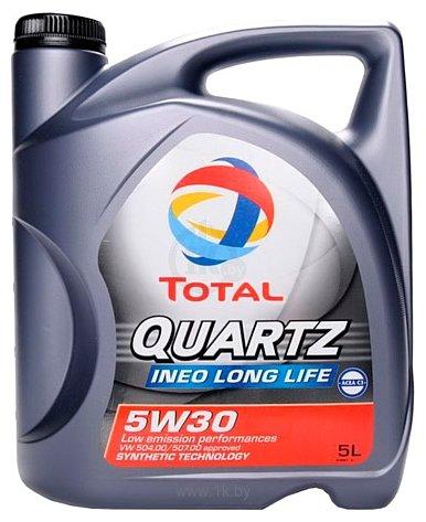 Фотографии Total Quartz Ineo LONG LIFE 5W-30 5л