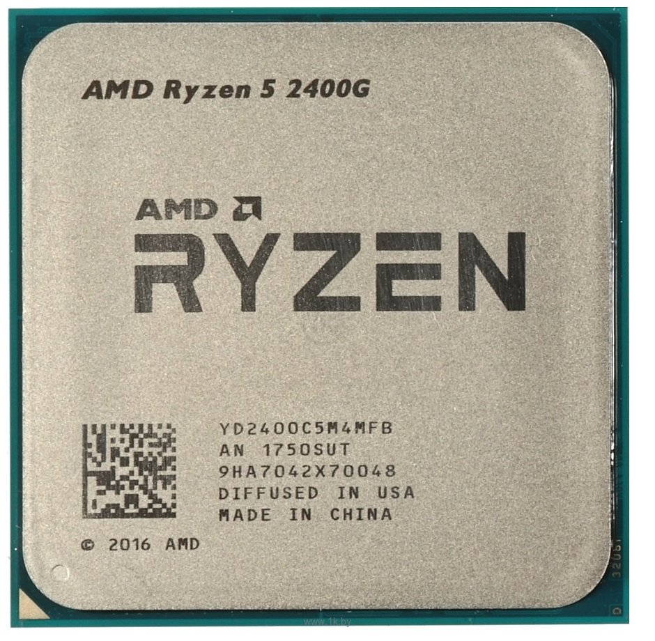 Фотографии AMD Ryzen 5 2400G Raven Ridge (AM4, L3 4096Kb)