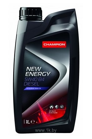Фотографии Champion New Energy 5W-40 B4 Diesel 1л