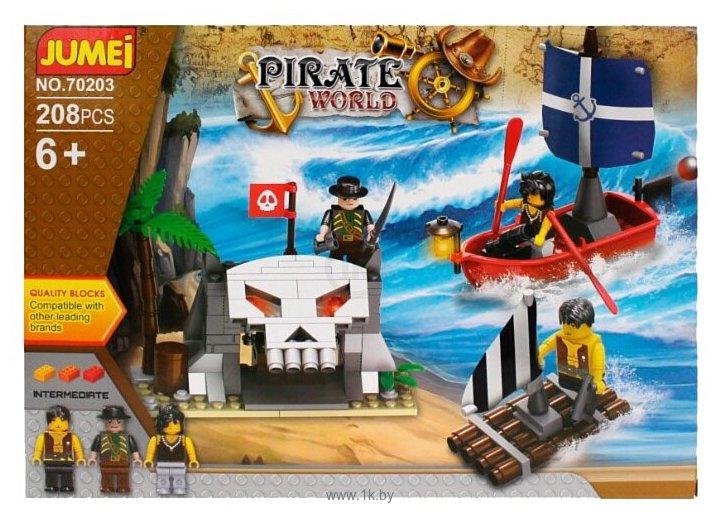 Фотографии Jumei Pirate World 70203 Пираты