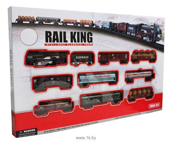 Фотографии Big Motors Набор «Железная дорога с 9 вагонами» 19033-8