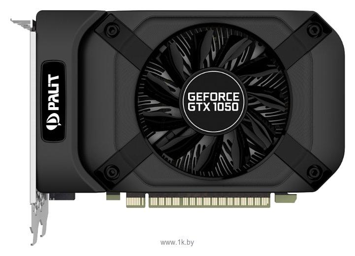 Фотографии Palit GeForce GTX 1050 1354Mhz PCI-E 3.0 2048Mb 7000Mhz 128 bit DVI HDMI HDCP StormX