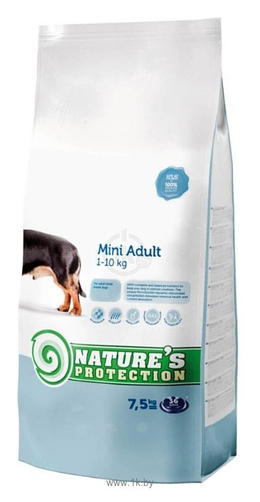 Фотографии Nature's Protection Mini Adult (7.5 кг)