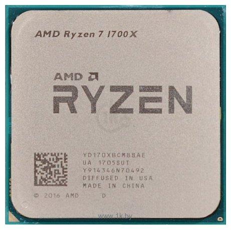 Фотографии AMD Ryzen 7 1700X Summit Ridge (AM4, L3 16384Kb)