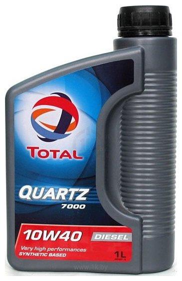 Фотографии Total Quartz Diesel 7000 10W-40 1Л