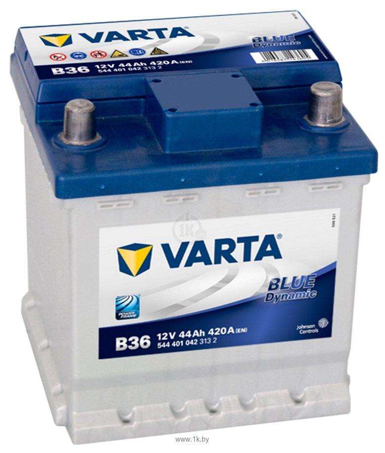 Фотографии VARTA BLUE Dynamic 544401042 (44Ah)