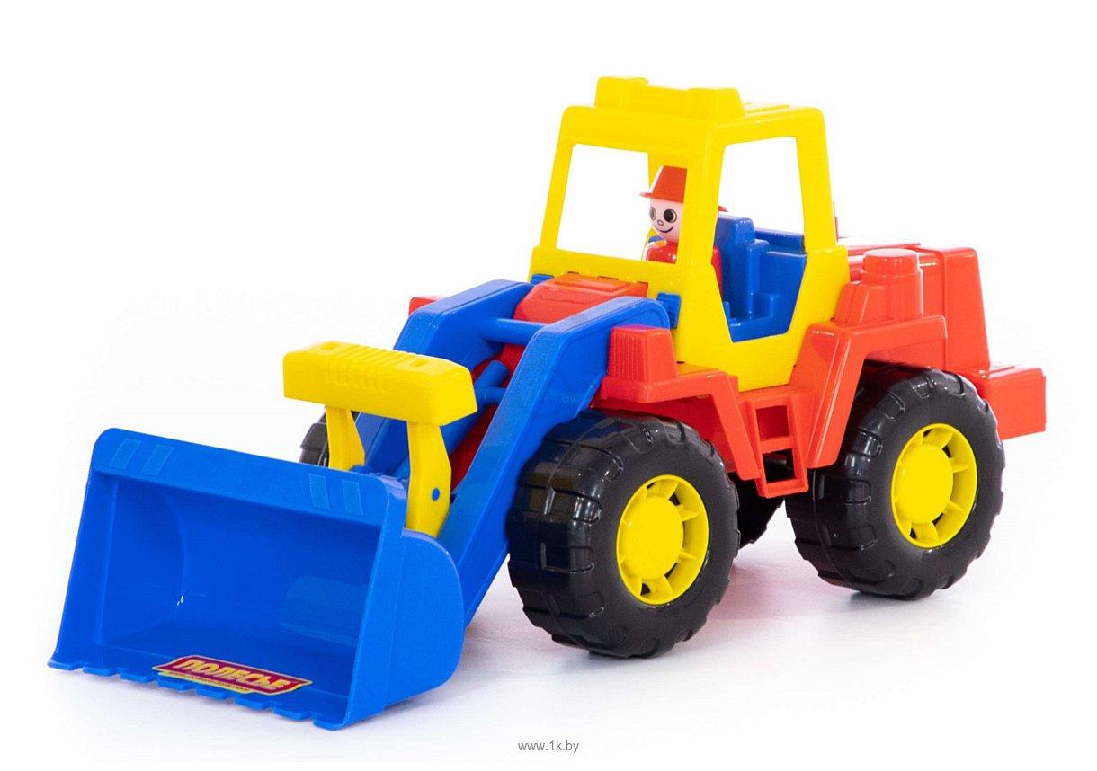 Фотографии Полесье Техник трактор-погрузчик 36988