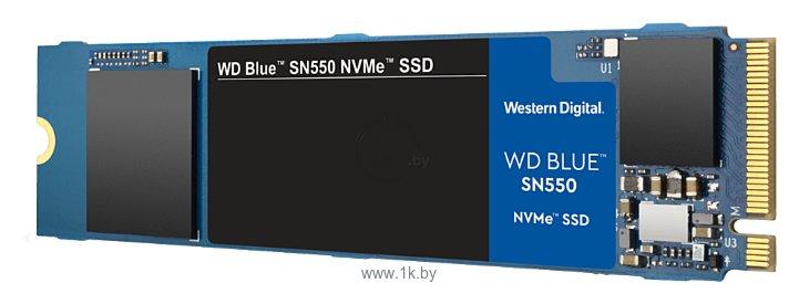 Фотографии Western Digital WD Blue SN550 1 TB (WDS100T2B0C)