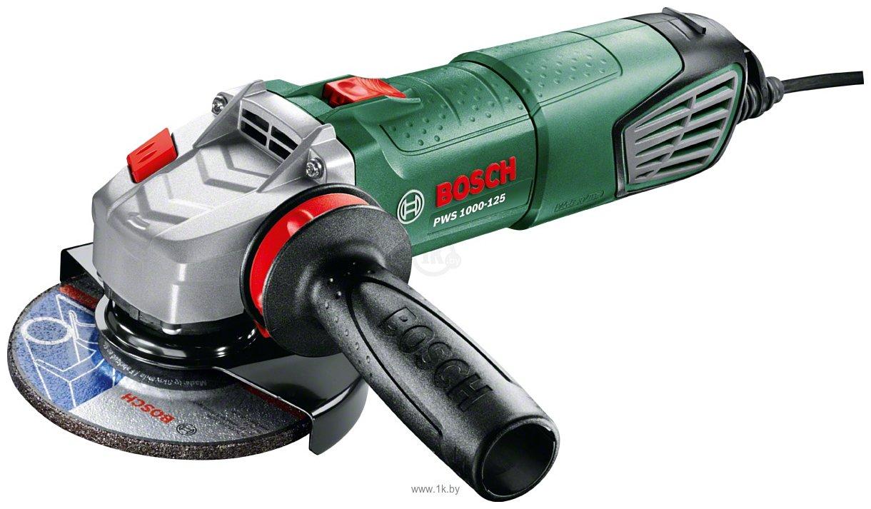 Фотографии Bosch PWS 1000-125 (06033A2620)
