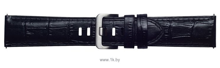 Фотографии Samsung Alligator Pattern для Galaxy Watch 46mm & Gear S3 (черный)