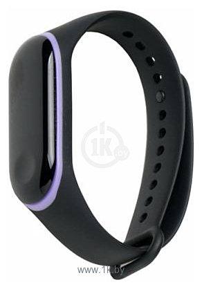 Фотографии Xiaomi для Mi Band 3 (черный/фиолетовый)