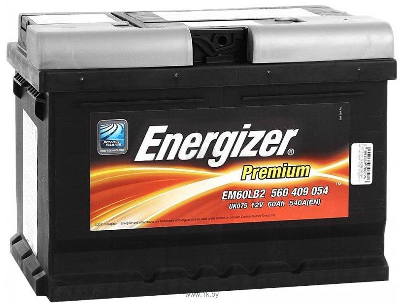 Фотографии Energizer Premium EM60-LB2 560409 (60Ah)