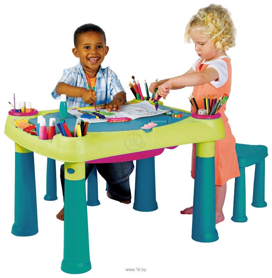 Фотографии Keter Creative Play Table + 2 stools (17184184)