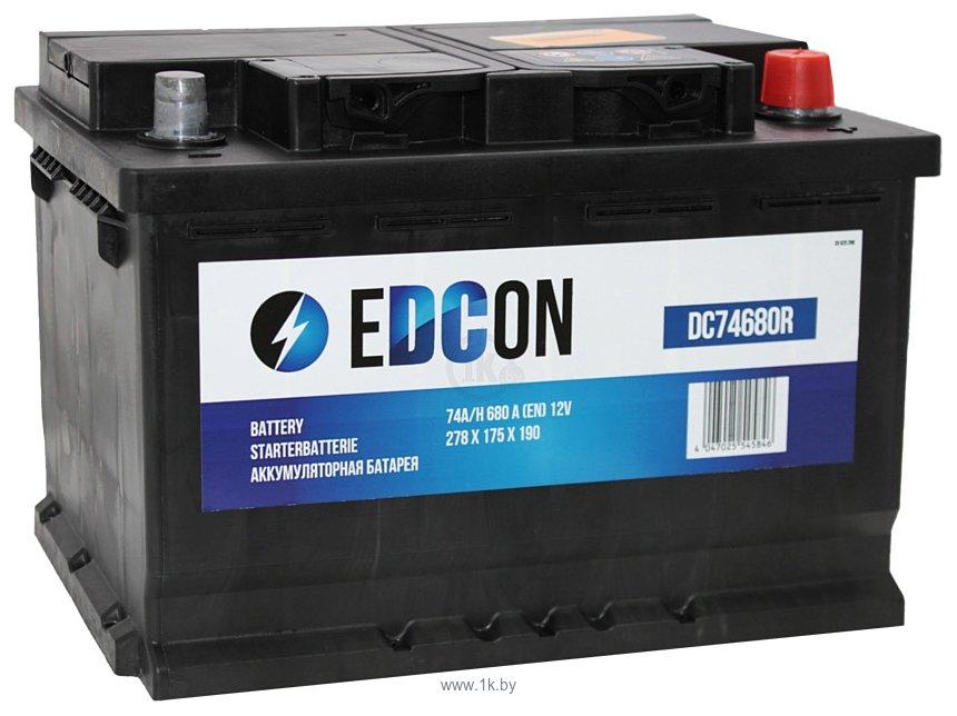 Фотографии EDCON DC74680R (74Ah)