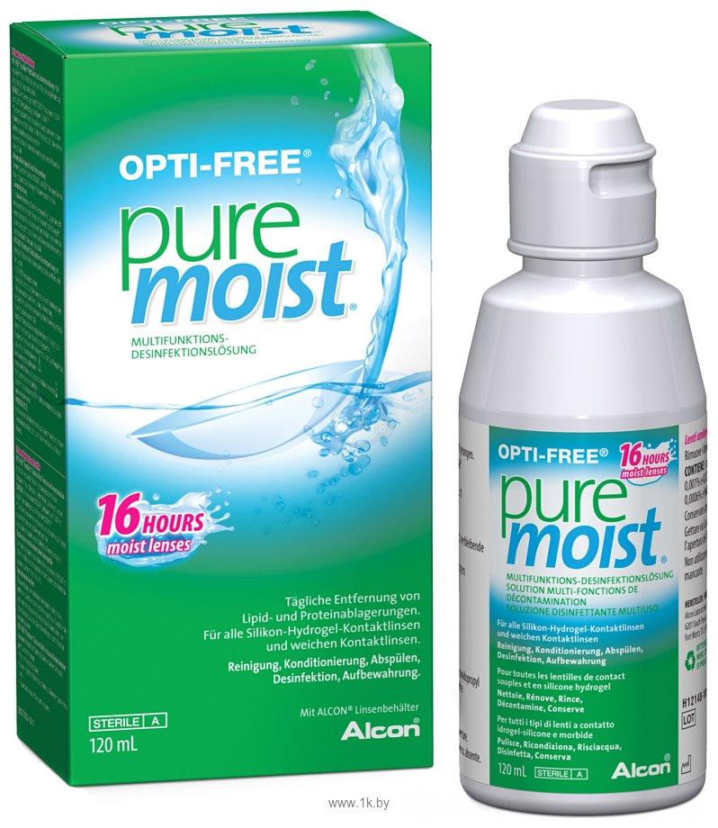 Фотографии Alcon OPTI-FREE Puremoist 120 ml