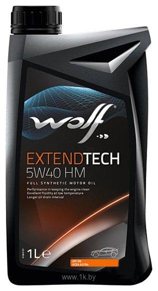 Фотографии Wolf ExtendTech 5W-40 HM 1л