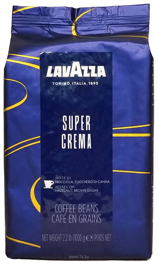Фотографии Lavazza Super Crema в зернах 1000 г