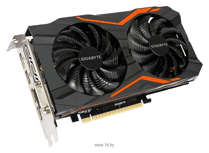 Фотографии GIGABYTE GeForce GTX 1050 1417Mhz PCI-E 3.0 2048Mb 7008Mhz 128 bit DVI 3xHDMI HDCP G1 Gaming