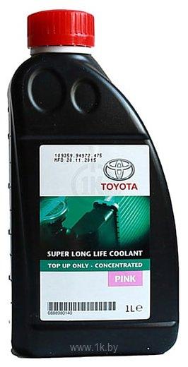 Фотографии Toyota Super Long Life Coolant PINK 1л