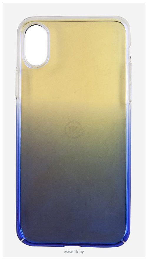 Фотографии Smarterra ColorFlow для Apple iPhone X (синий/желтый)