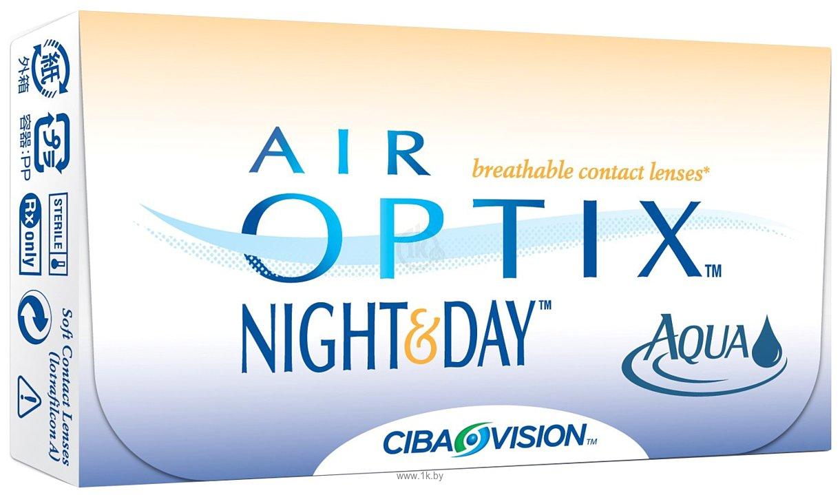 Фотографии Ciba Vision Air Optix Night&Day AQUA (от -1,00 до -5,00) 8.6mm