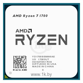 Фотографии AMD Ryzen 7 1700 Summit Ridge (AM4, L3 16384Kb)