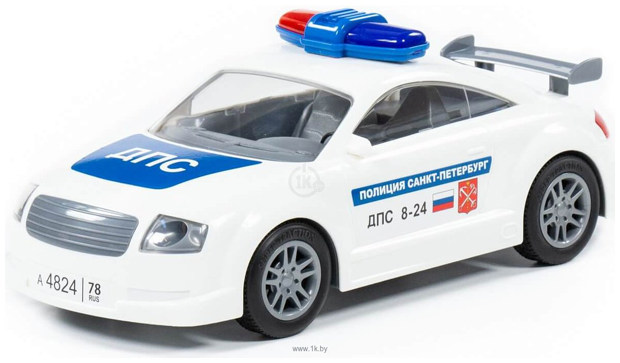 Фотографии Полесье ДПС Санкт-Петербург автомобиль инерционный 37053