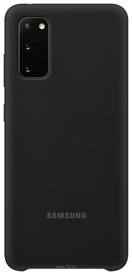 Фотографии Samsung Silicone Cover для Galaxy Note 20 (черный)