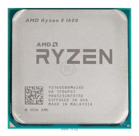 Фотографии AMD Ryzen 5 1600 Summit Ridge (AM4, L3 16384Kb)