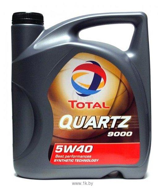 Фотографии Total Quartz 9000 5W-40 5Л