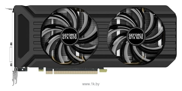 Фотографии Palit GeForce GTX 1070 1506Mhz PCI-E 3.0 8192Mb 8000Mhz 256 bit DVI HDMI HDCP Dual