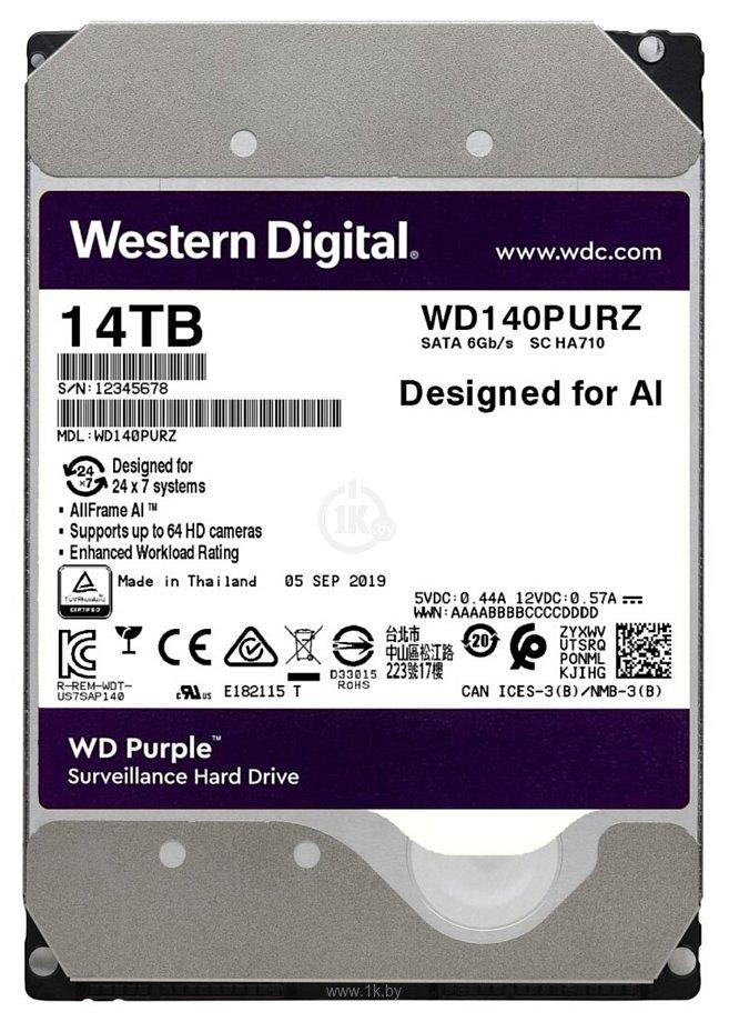 Фотографии Western Digital WD140PURZ