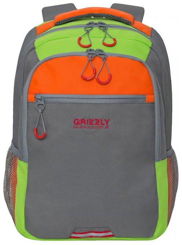 Фотографии Grizzly RU-922-3 28 серый/оранжевый