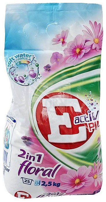 Фотографии E Active Plus 2 in 1 Floral 2.5 кг
