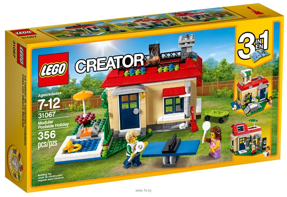 Фотографии LEGO Creator 31067 Вечеринка у бассейна
