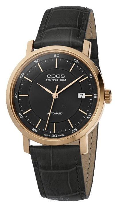 Мужские наручные часы Epos 3387.152.20.15.15 по низким ценам с доставкой по Москве, Санкт-Петербургу, купить Epos