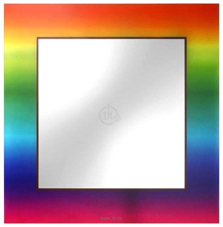 Фотографии Dubiel Vitrum Tecza 65x65 cm зеркало (5905241001623)