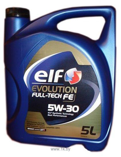 Фотографии Elf Evolution Full-Tech FE 5W-30 5л