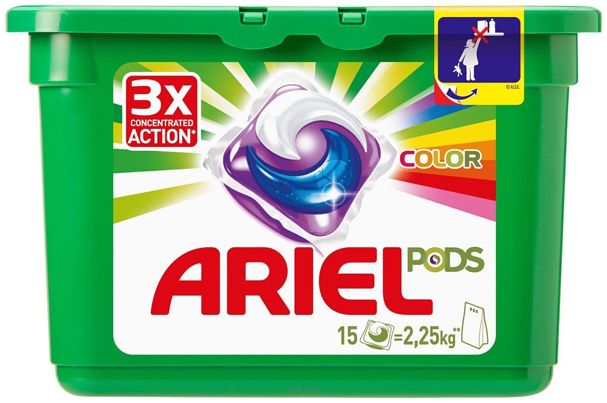 Фотографии Ariel Color Pods 15шт.