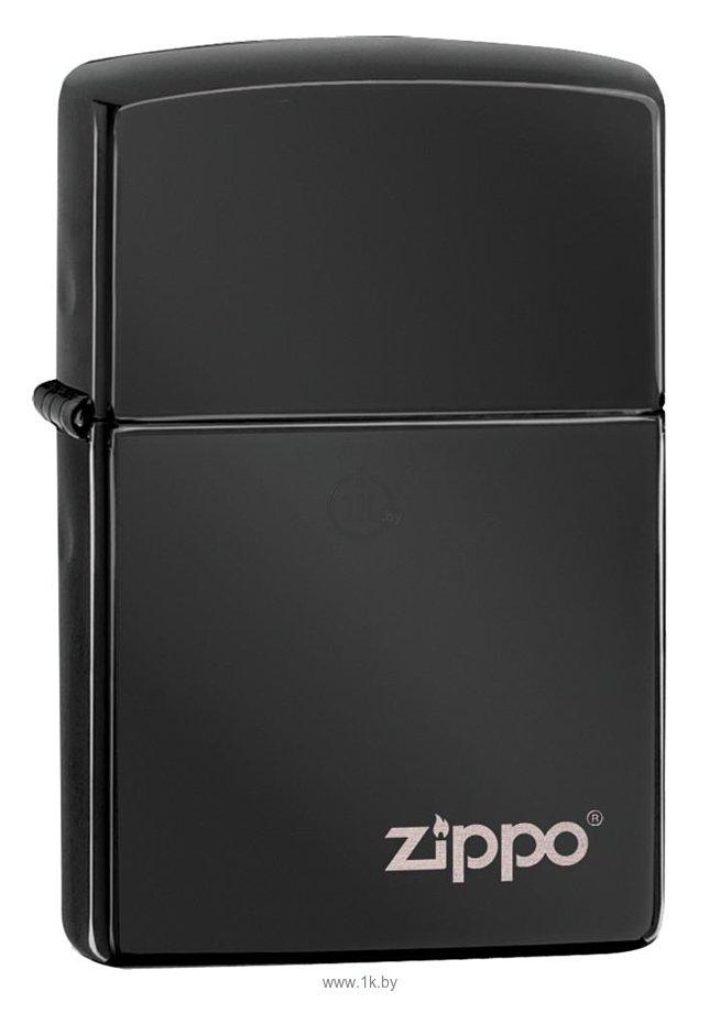 Фотографии Zippo Ebony Zippo Logo (24756ZL-000003)