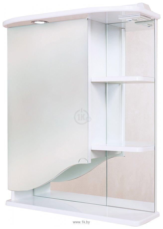 Фотографии Onika Шкаф с зеркалом Виола 60.01 левый (белый) (206003)