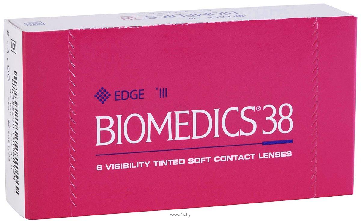 Фотографии CooperVision Biomedics 38 (от -0.5 до -6.0) 8.6mm